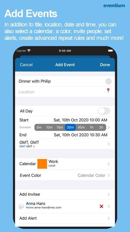 Eventium: Calendars & Events screenshot-8