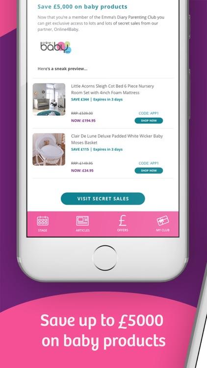 Emma's Diary: Pregnancy App UK screenshot-3