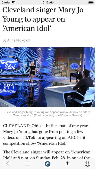 cleveland.com Screenshot