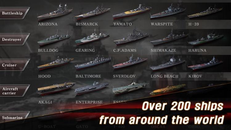 WARSHIP BATTLE:3D World War II screenshot-3