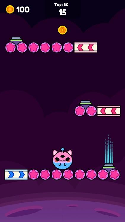 Monkey Roll: Kawaii Climb screenshot-6