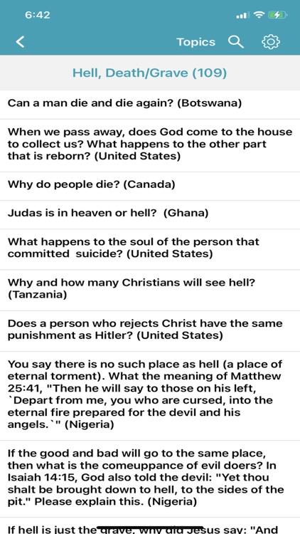 Bible Questions & Answers -FAQ screenshot-7