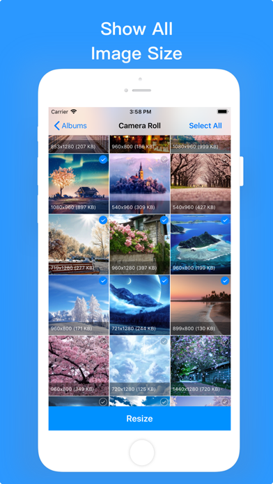 Image Size Editor -Resizer App Screenshots