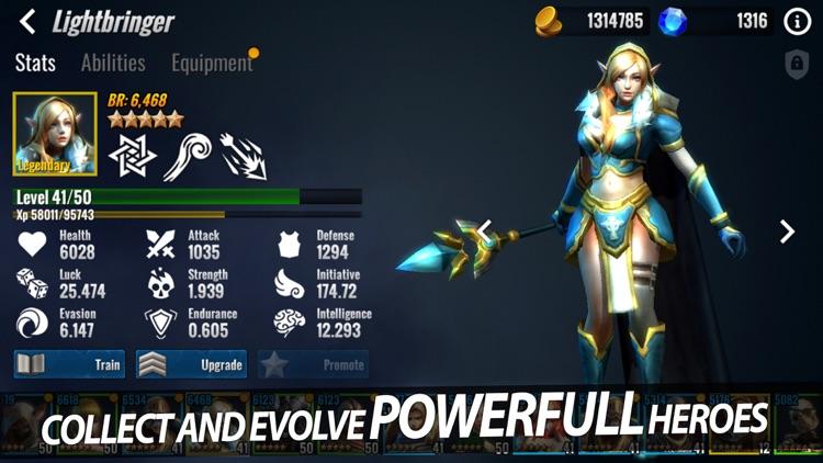 Heroes Forge: Battlegrounds screenshot-4