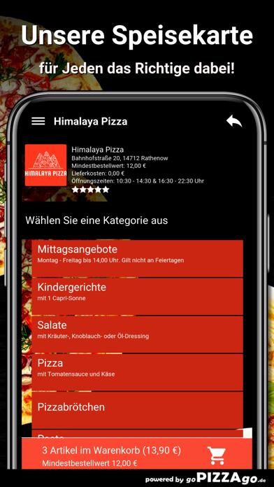 Himalaya Pizza Rathenow screenshot 4
