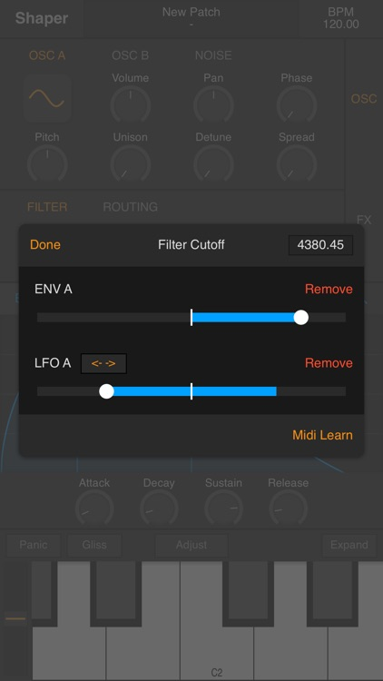 Shaper - Synthesizer screenshot-4