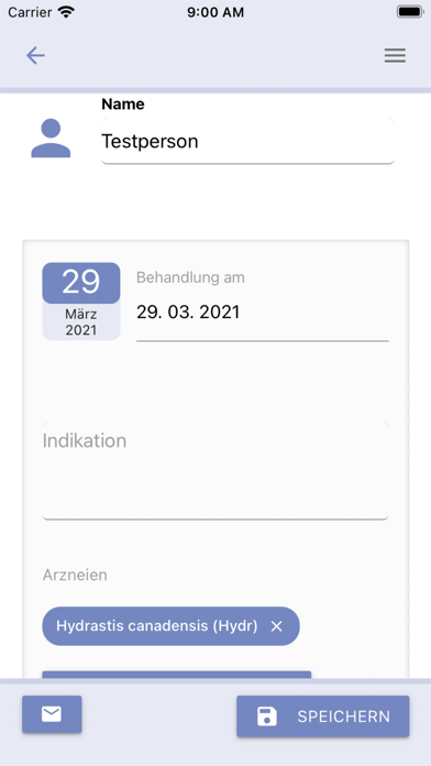 Homöopathie Hebammenalltag Screenshot