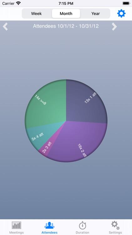 Calendar Statistics screenshot-3