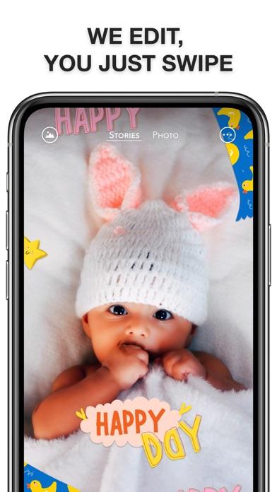 Babic: Baby Photo Art & Filter screenshot 3