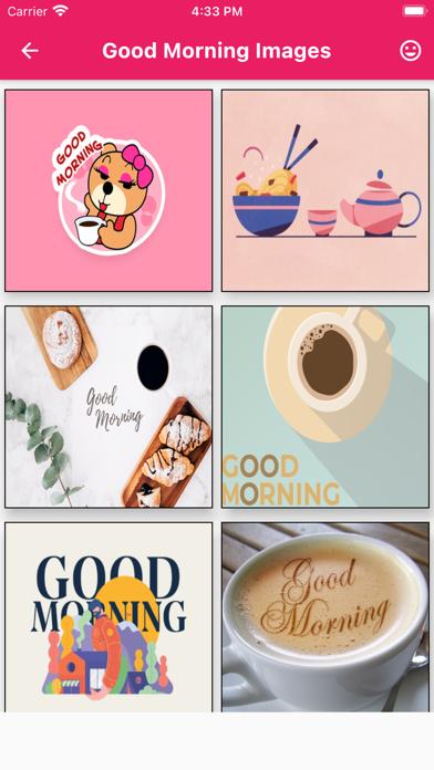 Good Morning Images Messages Screenshot