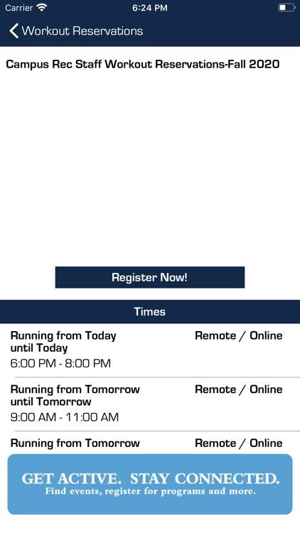 UNC Campus Rec screenshot-3