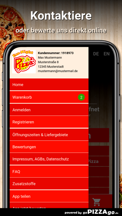 Ess-Night Pizza Esslingen screenshot 3