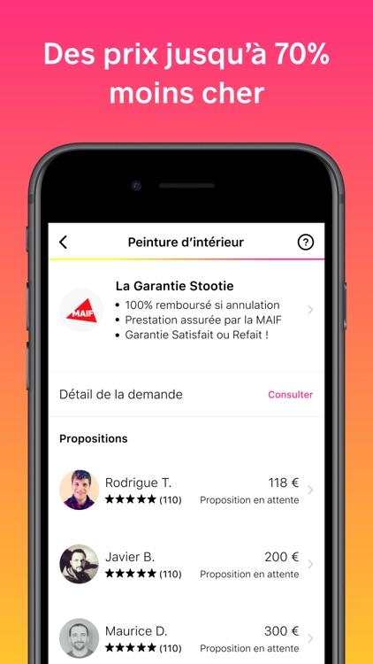 Stootie - Services à domicile screenshot-4