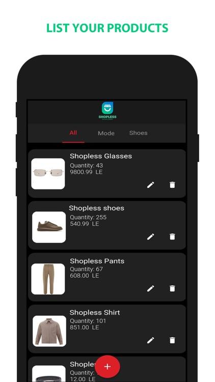 Shopless Seller Center