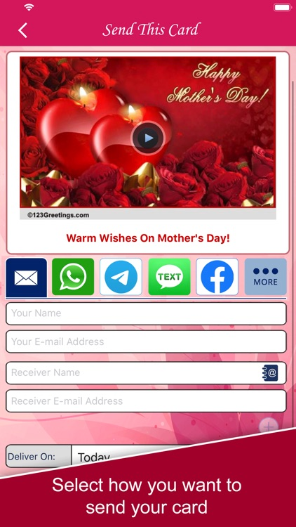 Mother's Day eCards & wishes screenshot-3