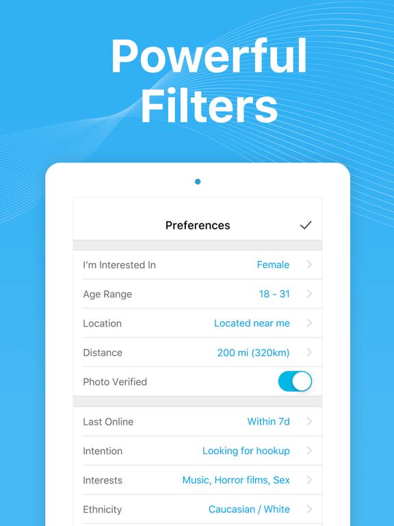 Wild - Free hookup app, meet, date & hook up in US screenshot