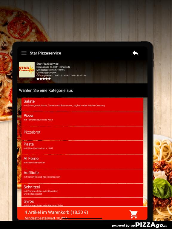 Star Pizzaservice Chemnitz screenshot 8