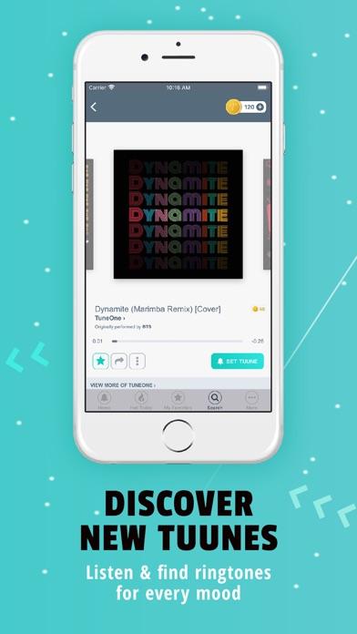 Tuunes Ringtones for iPhone Screenshot