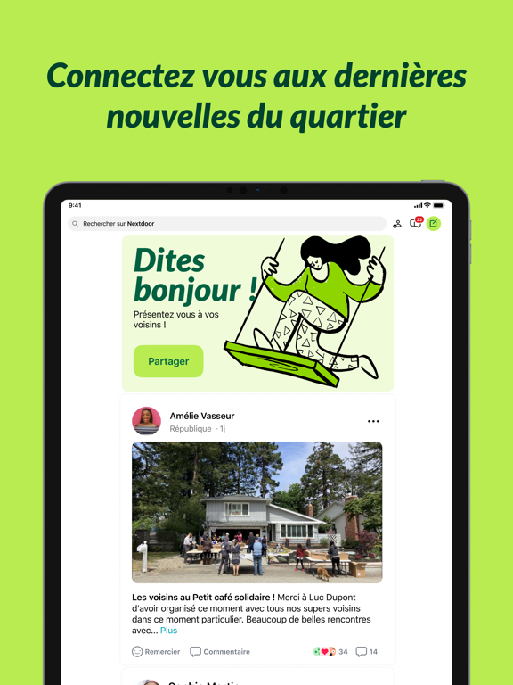 Screenshot #4 pour Nextdoor - l'app du quartier
