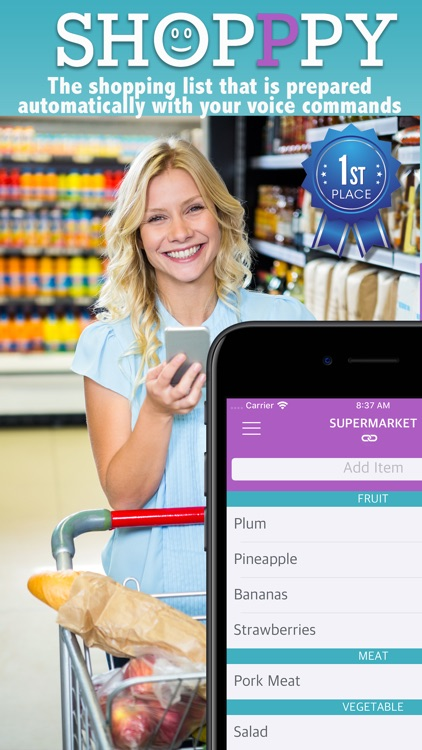 SHOPPPY  Voice Grocery List