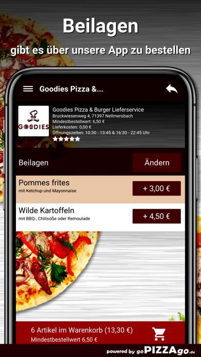 Goodies Pizza Nellmersbach screenshot 6