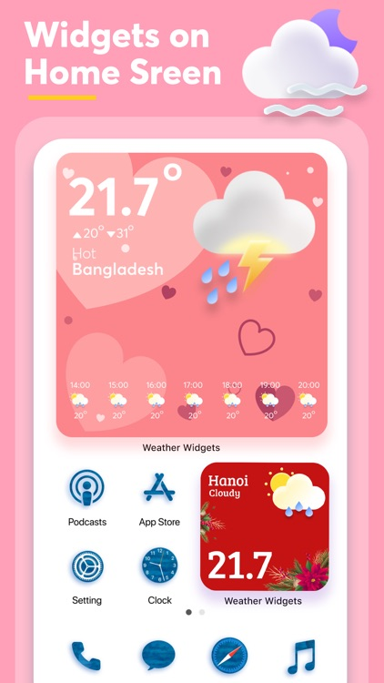 Weather Widget - Radar Channel screenshot-5