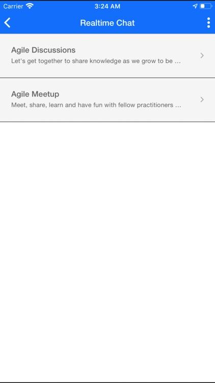 Agile Social Network screenshot-3