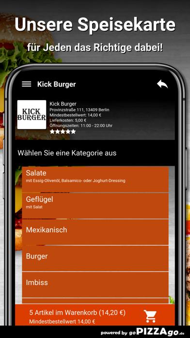 Kick Burger Berlin screenshot 4