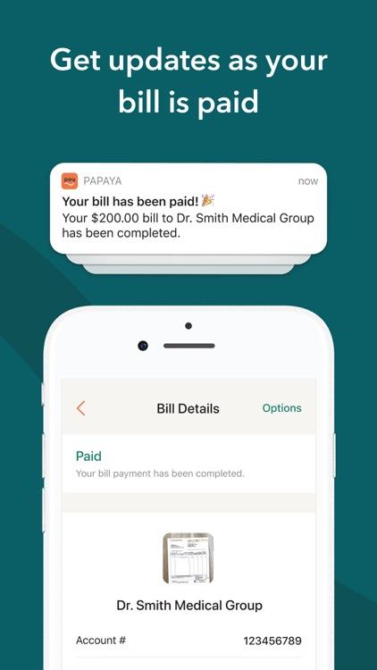 Papaya: Pay Any Bill screenshot-3