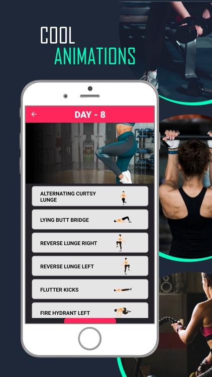 Butt Legs Workout for Buttocks screenshot-5