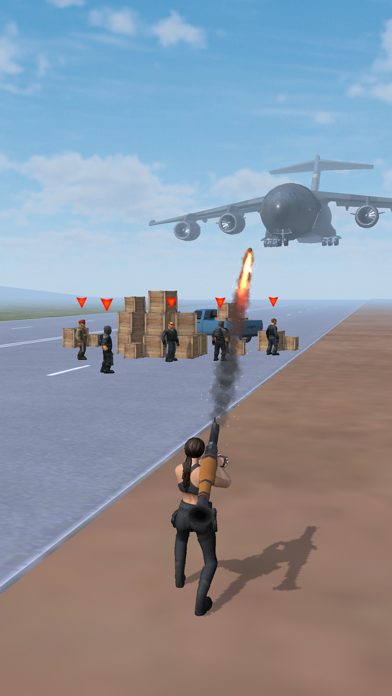 Mrs. RPG - Hot Girl Demolition screenshot 1
