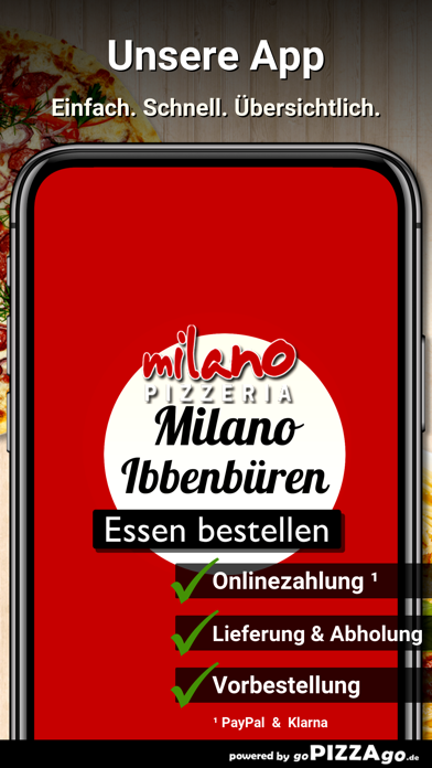 Milano Ibbenbüren screenshot 1