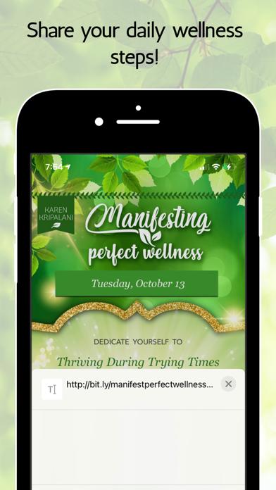 Manifesting Perfect Wellness screenshot 4
