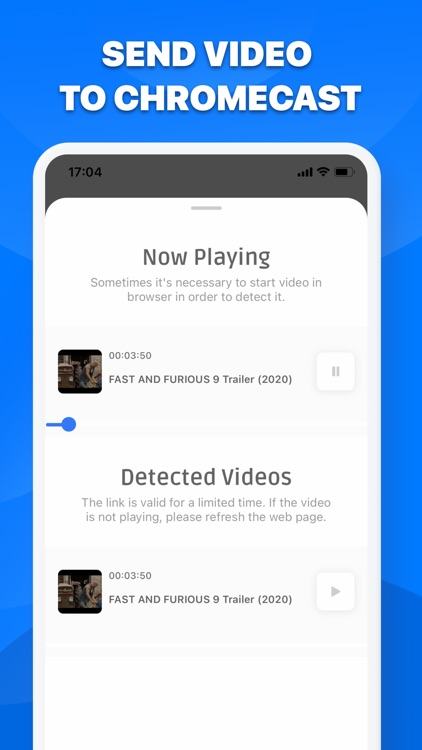 Chromecast Streamer - Castio screenshot-3