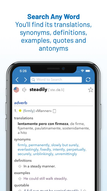 English Spanish Dictionary screenshot-7