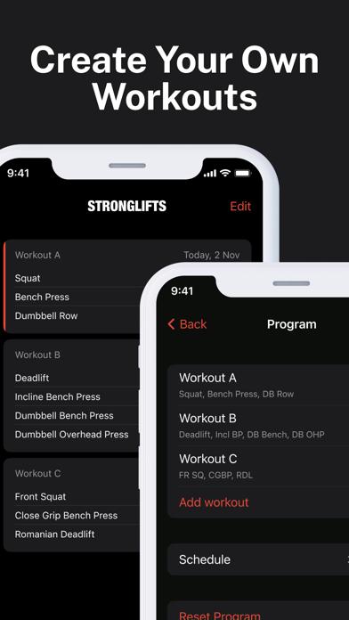 StrongLifts 5×5 -ジム 筋トレ 記録 &管理のおすすめ画像7