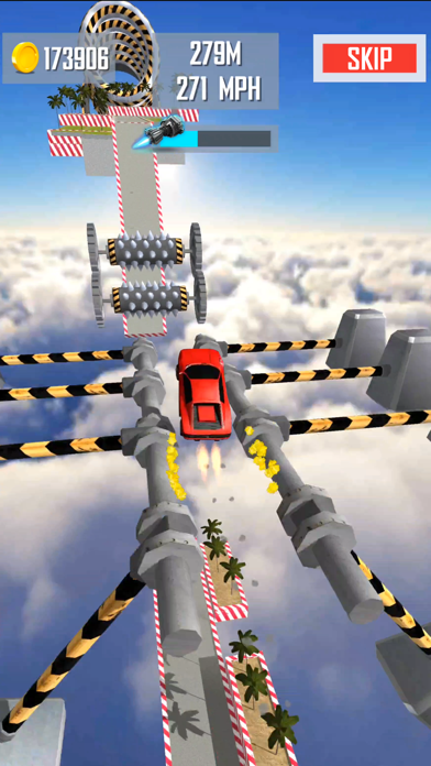 Mega Ramp Car Jumping screenshot 3