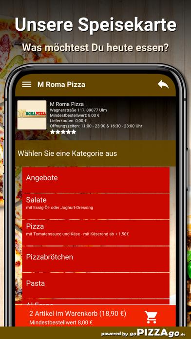 M Roma Pizza Ulm screenshot 4