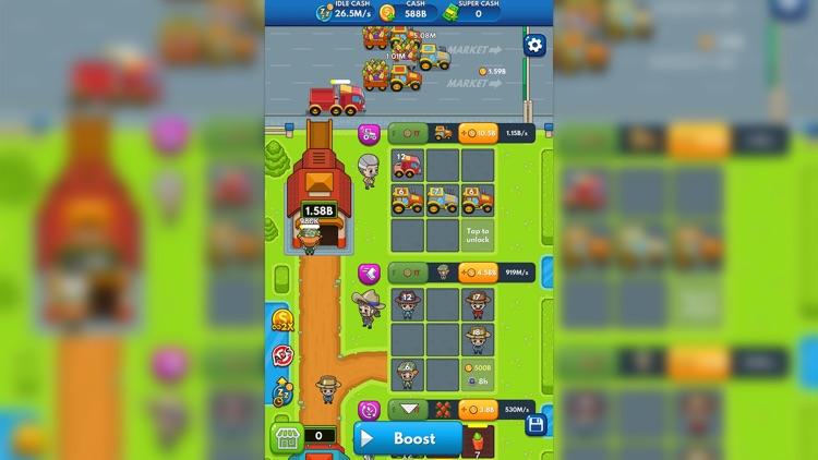 Idle Farm Tycoon - Merge Game screenshot-4