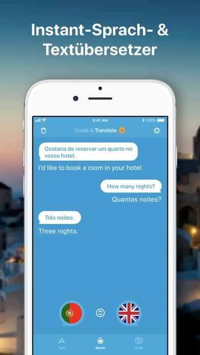 Sprich & Übersetze: ÜbersetzerScreenshot von 1