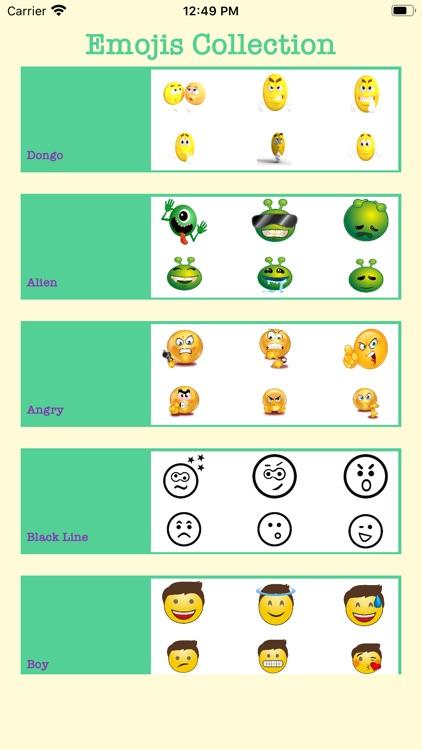 Emojis For iMessage & WhatsApp