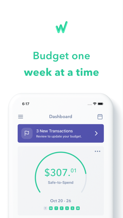 Weekly: A Better Budget App Screenshot