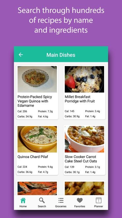Diabetic Diet Recipes & Meals