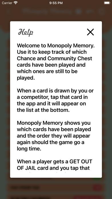 Monopoly Memory Screenshot