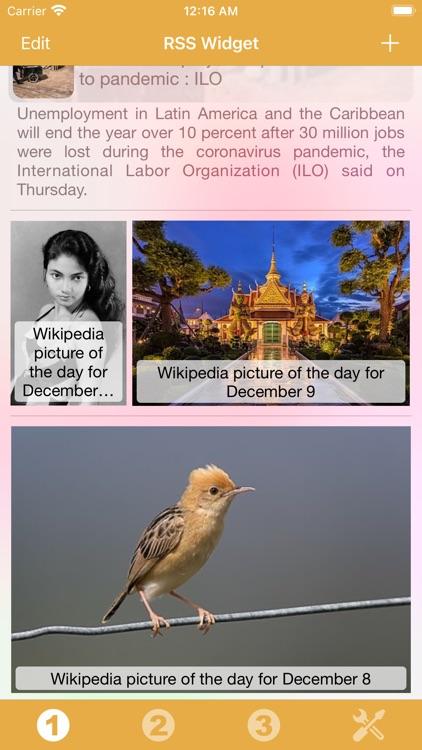 RSS Widget screenshot-6