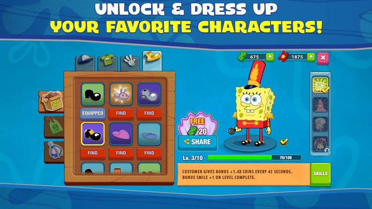 SpongeBob: Krusty Cook-Off screenshot-5