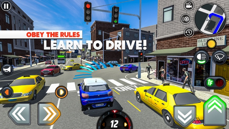 Car Driving School Simulator screenshot-0