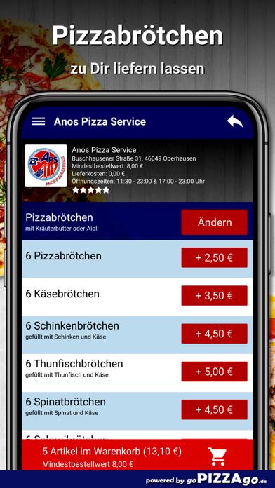 Anos Pizza Service Oberhausen screenshot 4