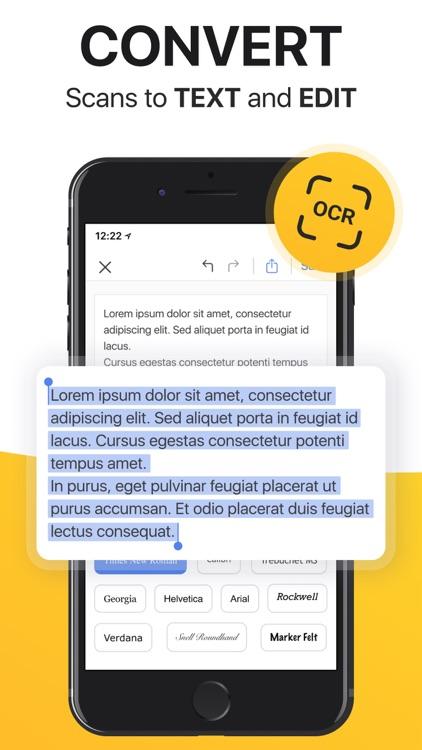 Scanner App: Scan Docs, Notes screenshot-5
