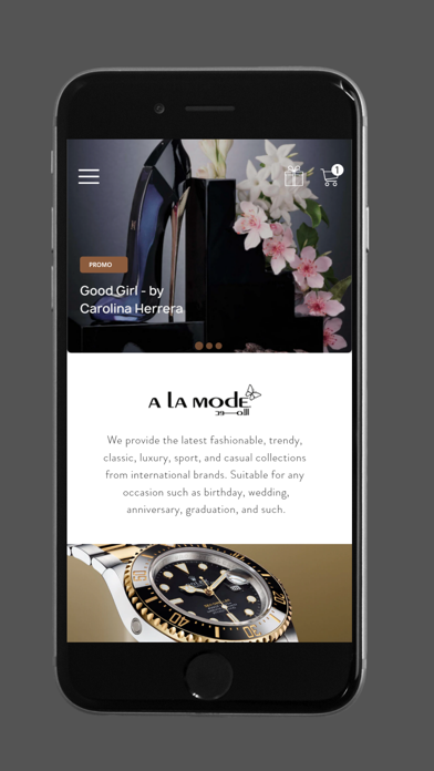 A La Mode Online Shopping screenshot 4